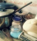 Una cocina tintorera!