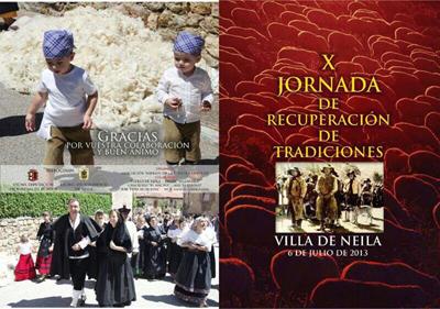 Cartel de la X Jornada de Tradiciones de Villa de Neila