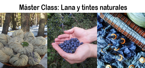 Master Class sobre Lana y Tintes Naturales en al Nomada Market Pura Lana Edition