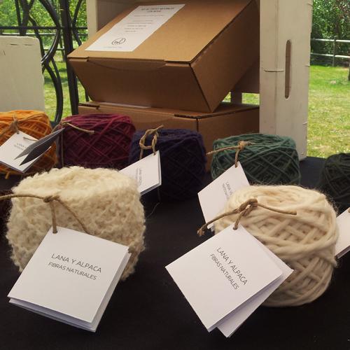 lanas y algodones teñidos con tintes naturales por mundo lanar
