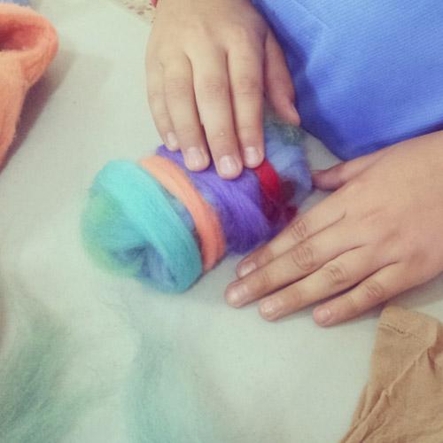 Aprendiendo a modelar  lana