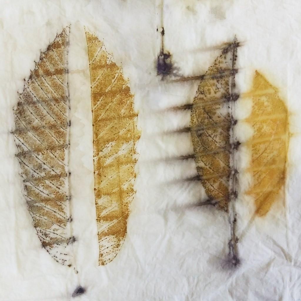 Ecoprint_Curso de Estampación Botánica en The Dyer's House_Mundo Lanar