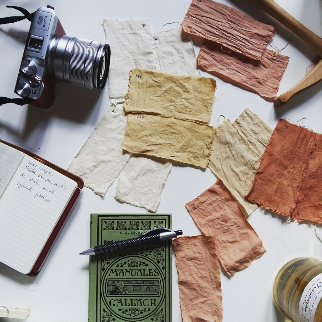 Tintes Naturales en Algodón_Cursos en The Dyer's House