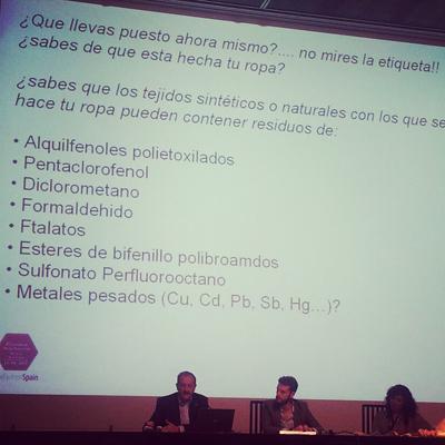 Nicolas Olea- Químicos en los textiles
