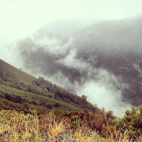 Surcando montañas