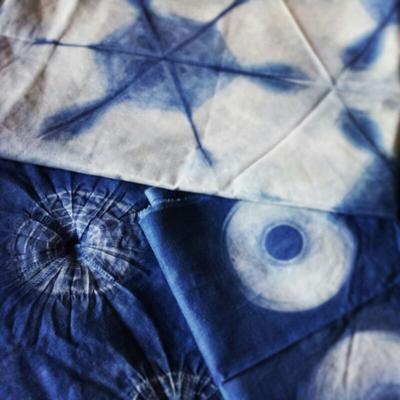 Diseños con shibori