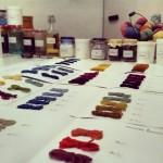 Tintes Naturales en el Instituto Europeo de Diseño