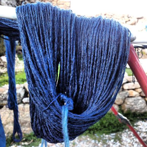 indigo wool