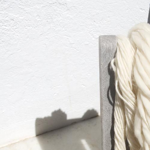Madejas de lana virgen