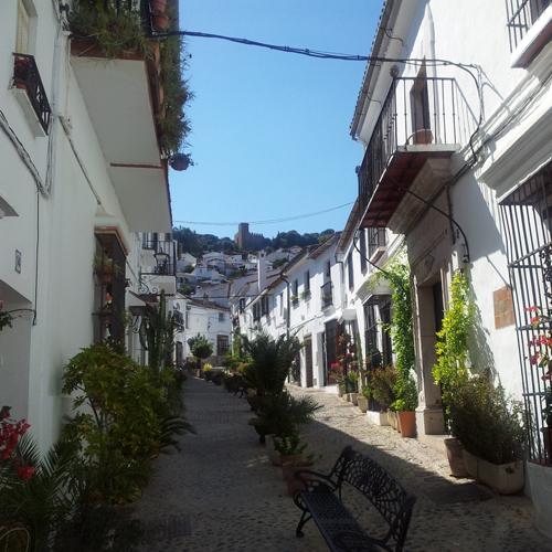calles de Jimena de la Frontera