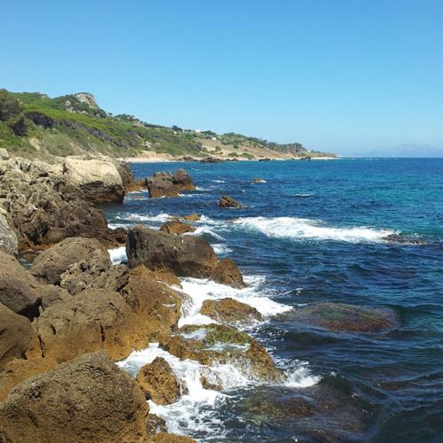 camino a Punta Paloma