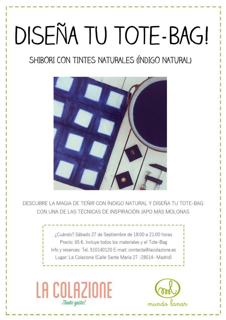 Cartel Diseña tu ToteBag Mundo Lanar