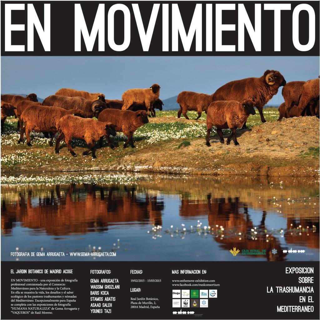 En Movimiento Exposición Fotográfica sobre la Trashumancia en el Mediterráneo
