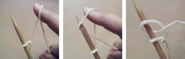 2º paso El Arte de Tejer Tutorial de Puntos