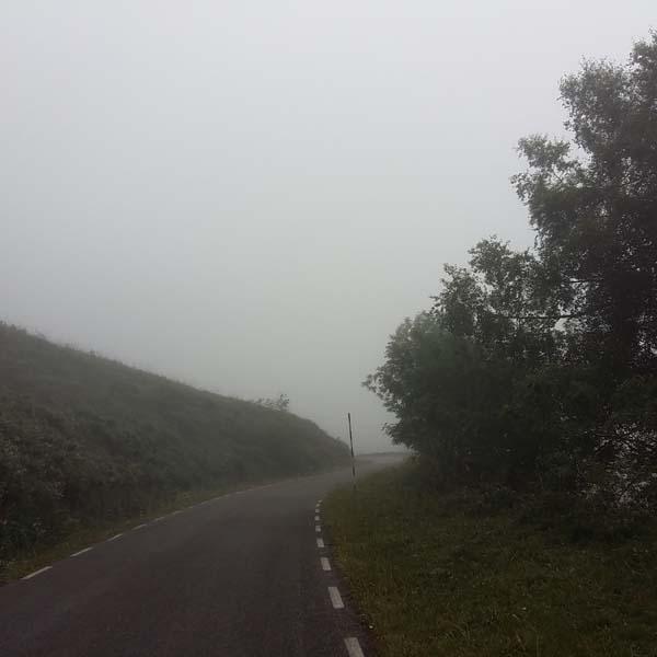 Carretera de montaña Valle del Soba
