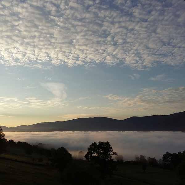 Mar de nubes desdeThe Dyers House