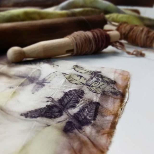 Ecoprint_Cursos de Ecoprint en The Dyer's House