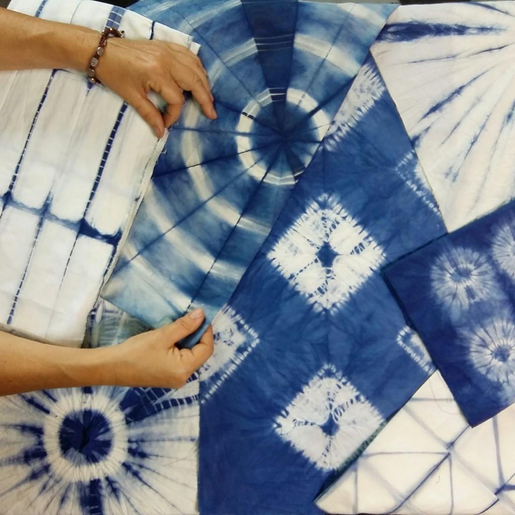Proyectos de Shibori_The dyer's House_Escuela de Fibras & Tintes Naturales