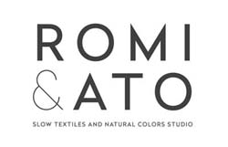 Romi & Ato: Slow Textiles & Natural Colors Studio